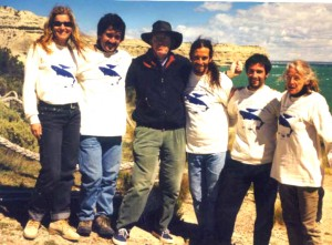 ICB and OA team at PV in 2000b