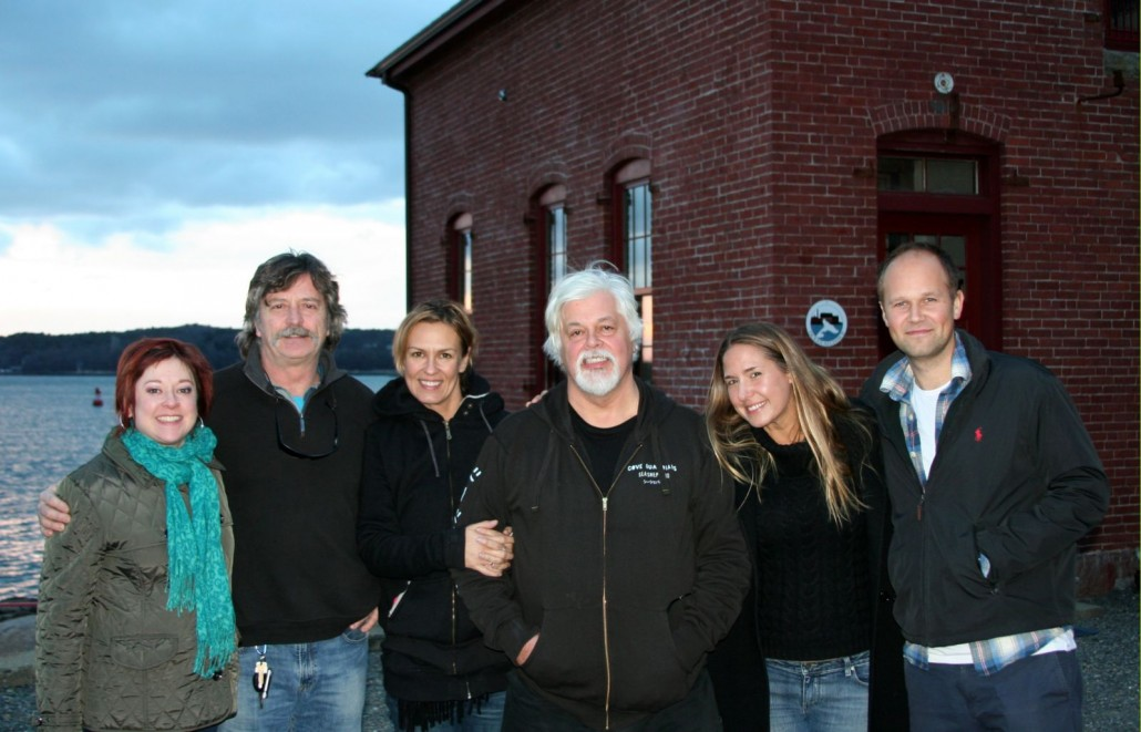 Sea Shepherd at Paint Factory