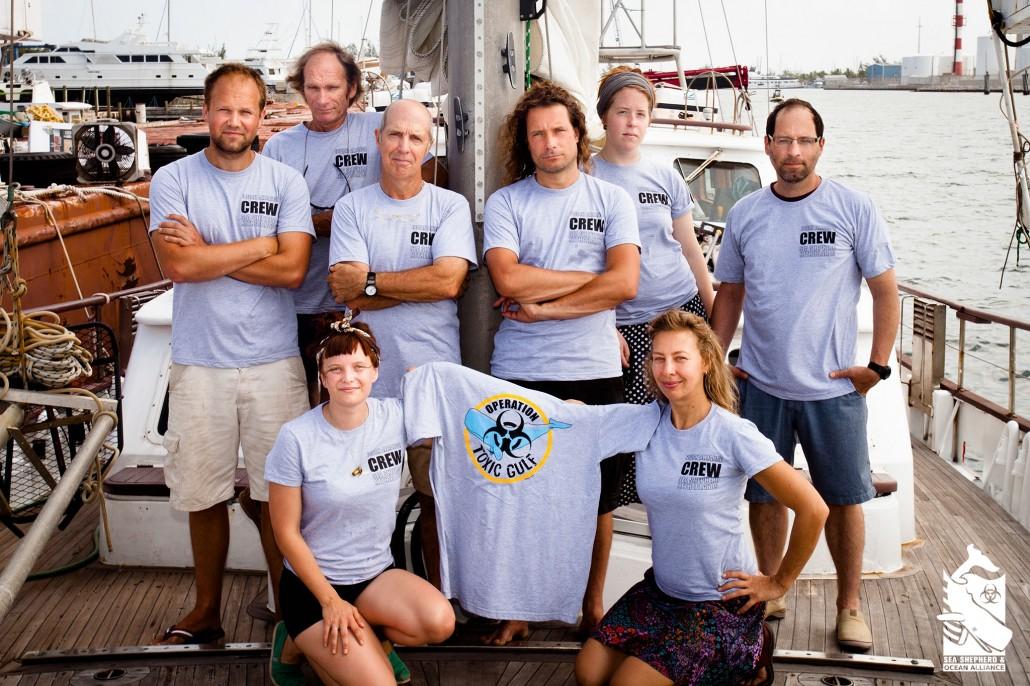 Operation Toxic Gulf crew