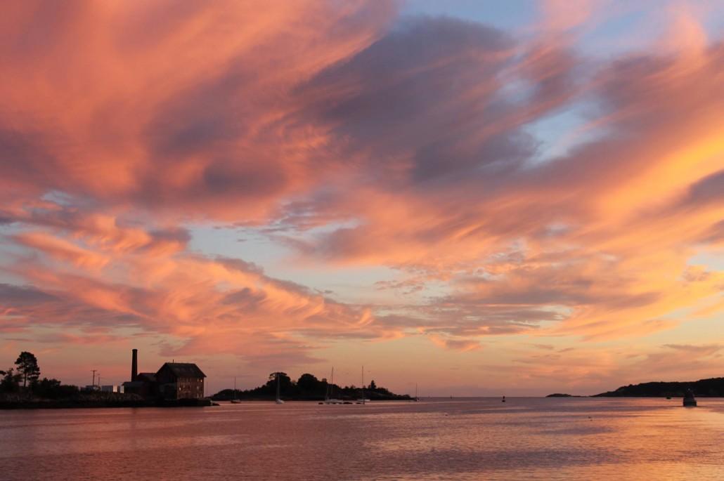 Paint Factory Sunset - Photo by Bob Wallace