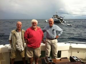 Iain, Paul and Roger