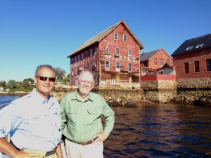 Leonard Aube and Roger Payne with Paint Factory