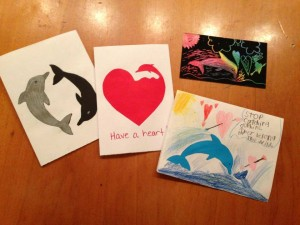 Valentines for dolphins