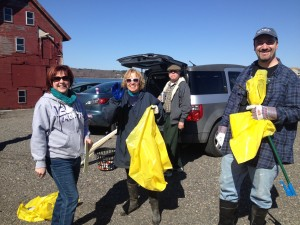 Volunteers for Harbor Cleanup