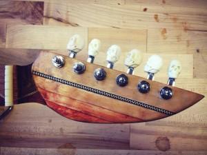 Whale Guitar detail