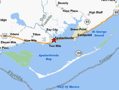 Appalachicola map