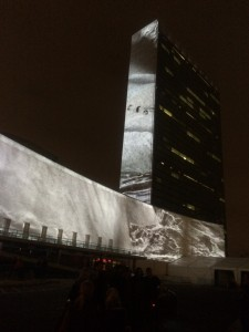 Projecting Change at United Nations