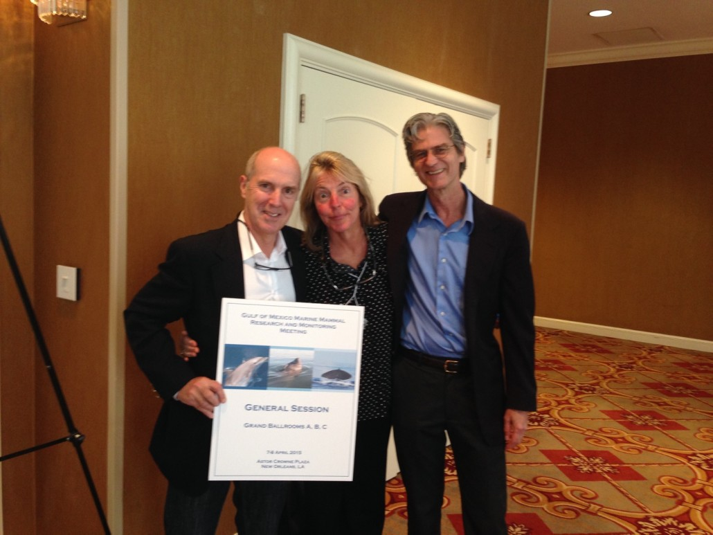 Dr. Iain Kerr, Dr John Hildebrand from SCRIPPS La Jolla & Dr. Frances Gulland from Marine Mammal Center Sausalito