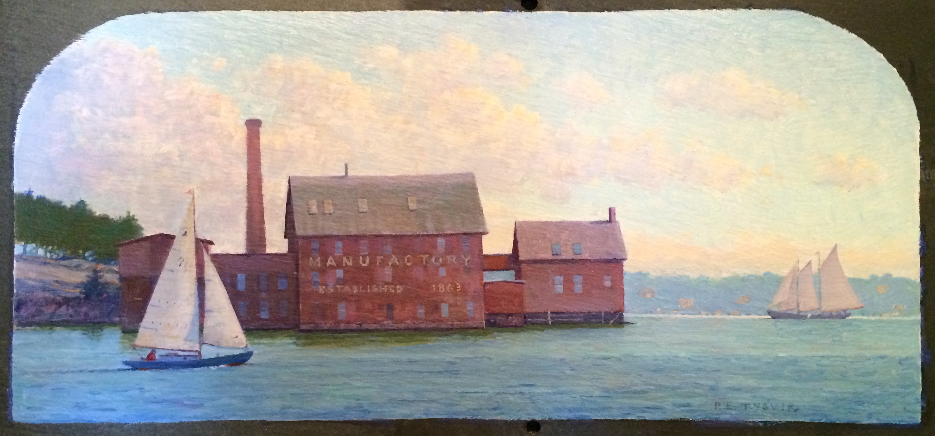 """Sailing by the Paint Factory"" by Peter Tysver"