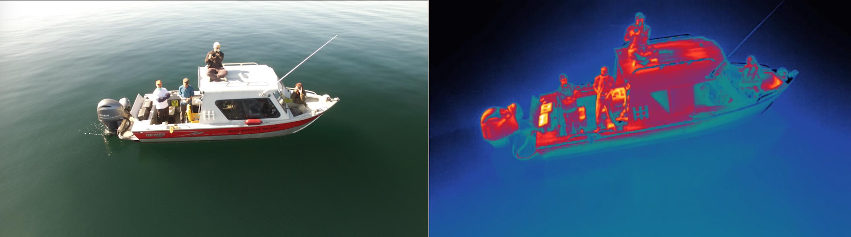 Boat FLIR comparison