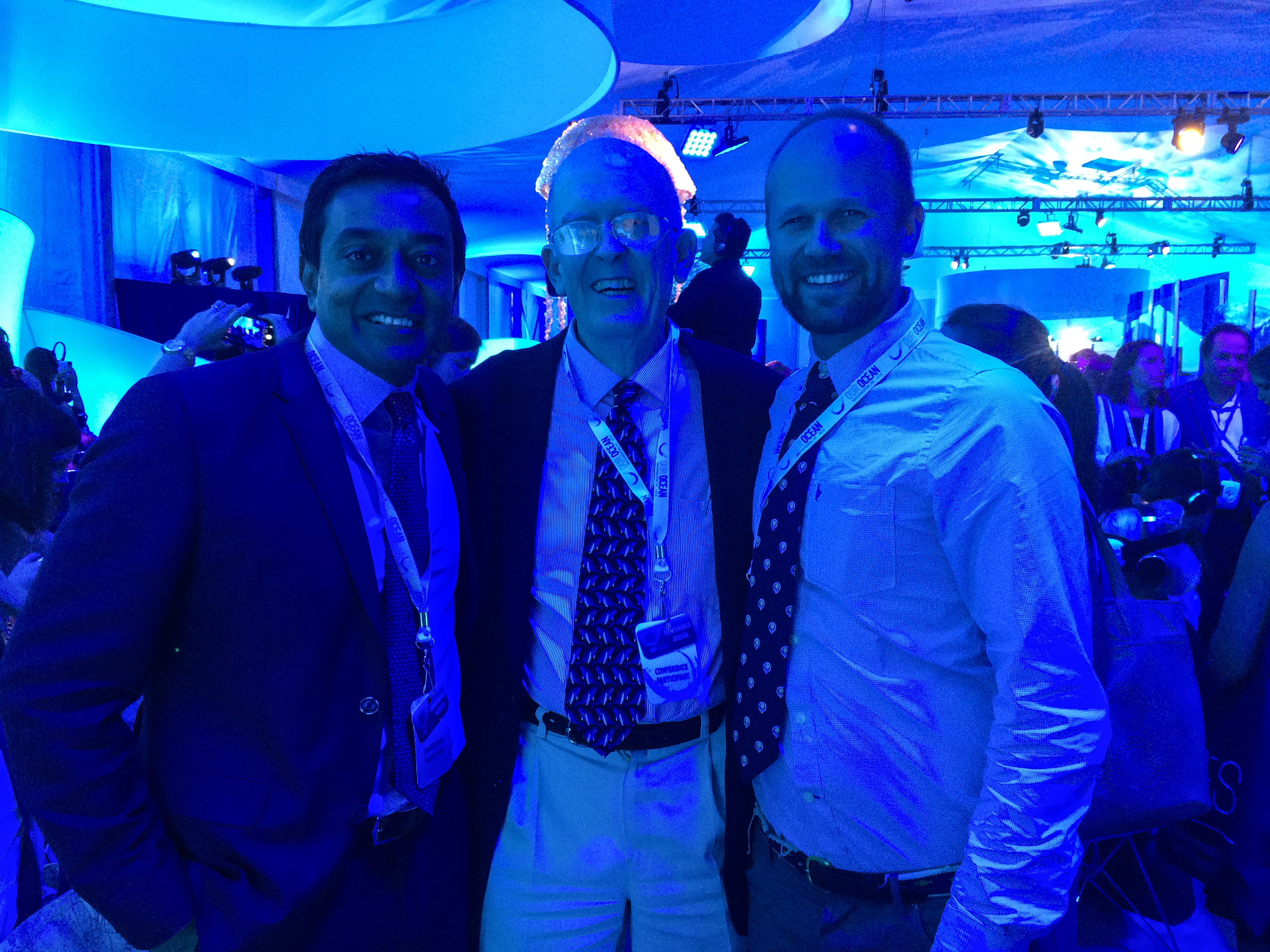 M. Sanjayan (Conservation International), Roger Payne, Andy Rogan