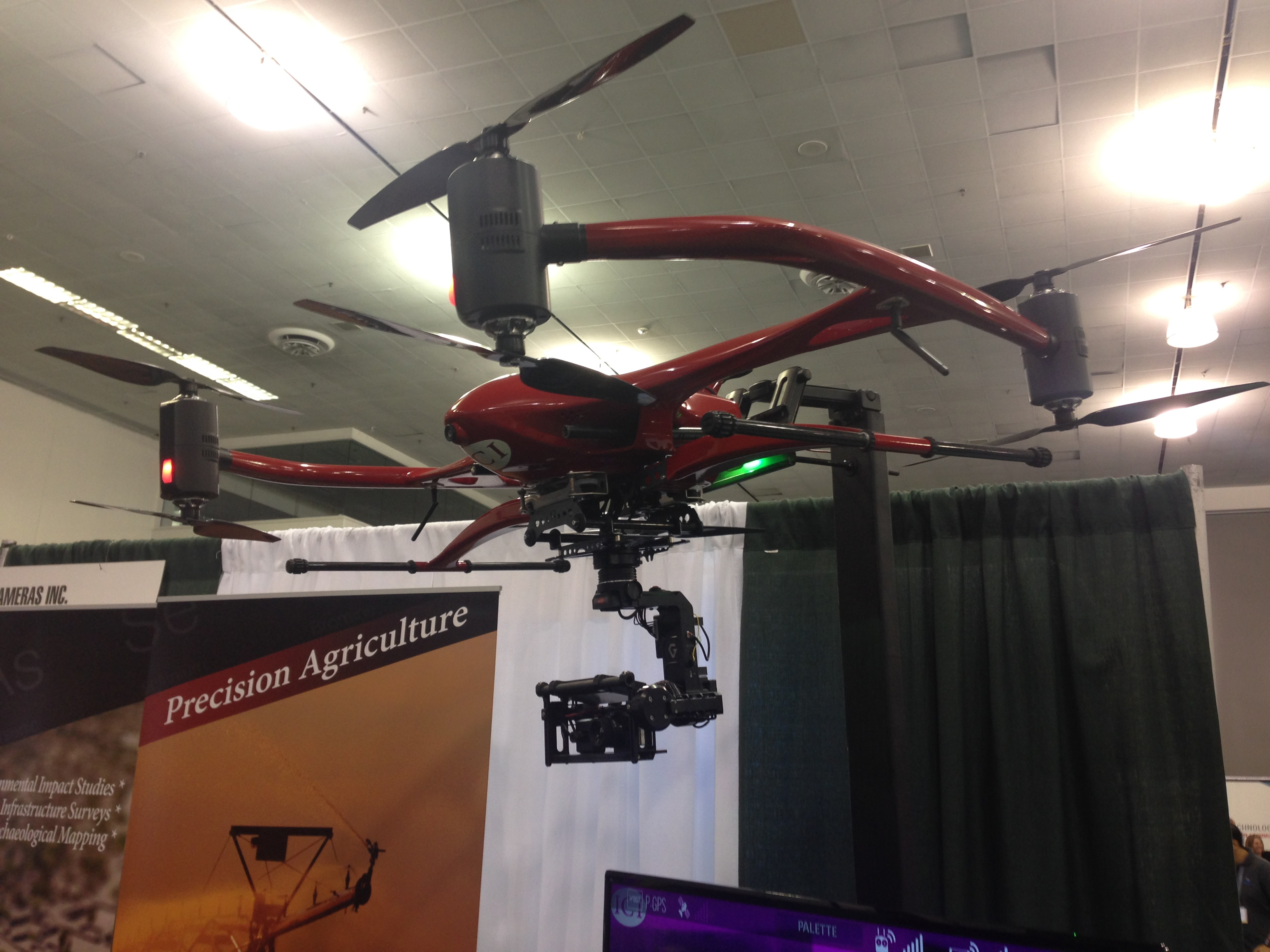 An impressive array of technology was on display at Drone World Expo.